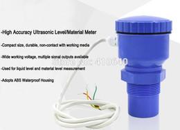 Argentina 4 a 20 mA Medidor de nivel ultrasónico de zona ciega pequeño integrado 20 piezas por lote China Sensor inteligente supplier per meter Suministro