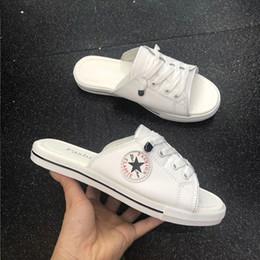 Sommer Männer Halbschuhe Schuhe Sandalen für Männer Mode koreanische Version der faulen Schuhe atmungsaktive Slipper von Fabrikanten