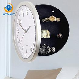 большие желтые часы Скидка Новый Ящик Для Хранения Гостиная Большие Настенные Часы Современный Дизайн Минималистский Мода Часы Висит Круглый Сельских Бытовых Немой