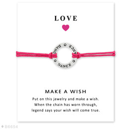 Dainty Girls Gift For Her Silver Ball Dancers Dancing Dream Dance Charm Pulseras para mujeres desde fabricantes
