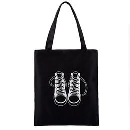 Grandi borse nere a buon mercato online-Borsa a mano per il tempo libero del sacchetto di spalla del fumetto della borsa della borsa del carattere durevole di alta qualità della pianura delle donne nere normali di alta qualità
