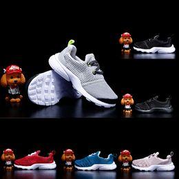 zapatos de voleibol para niños Rebajas Nike Presto React Moda clásica Presto Calzado deportivo Zapatos para niños FashionTraining Voleibol Baby Boy Girl Gift Casual Kids Sneakers