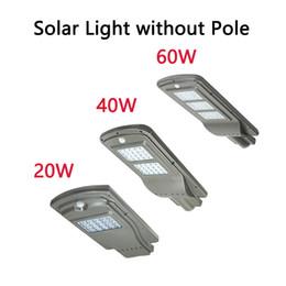 Deutschland LED Parkplatz Beleuchtung Solar Straßenlaternen 20w 40w Radarsensor Sicherheit Spot Licht wasserdicht Dämmerung bis Morgendämmerung Außenleuchte cheap led parking lights Versorgung