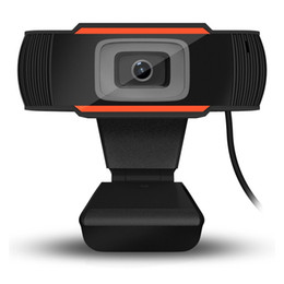 webcam di registrazione video Sconti HOT 8x3x11cm A870C USB 2.0 Videocamera per PC 640X480 Videoregistrazione HD Webcam Webcam con microfono per computer per PC portatile Skype MSN