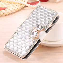Deutschland Diamond Wallet Flip Strass Hülle für Xiaomi Mi 4 4C 4I 4S 5 5S 5C 6 Plus Max Mix Redmi Note 2 3 3X 4 4A 4X 5X 5A supplier xiaomi mi 4i case Versorgung