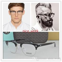 49d5be1e918ee Brand Designer-Luxury Vintage Moscot Yukel Johnny Depp half frame Glasses  Optical Eyeglasses Anti-blue Myopia Glasses Frame With Org Box