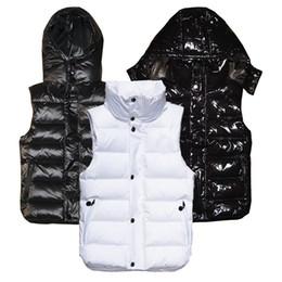 Giacca con cappuccio donna xl online-moda uomo e donna inverno piumino piuma weskit giacche donna gilet casual cappotto mens giù cappotto gilet con cappuccio