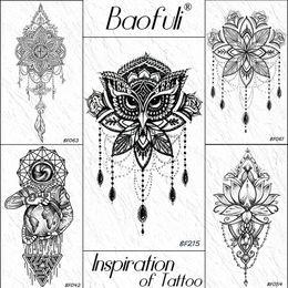 Discount Mandala Tattoos Mandala Tattoos 2019 On Sale At Dhgate Com