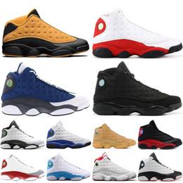 low priced feee8 ad8cf 2019 Top Nike Air Jordan Retro 13 13s Uomo Scarpe da basket Chicago  allevati Ha ottenuto la storia del volo Flight Designer scarpe da ginnastica  Athletics ...