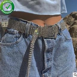 2019 cinto de cintura de moda de metal Cintos de grife Mulheres de Luxo Cintura Congelada Cadeia de Correia Declaração de Moda Bling Cristal Rhinestone Pandora Estilo Encantos Jóias de Casamento cinto de cintura de moda de metal barato
