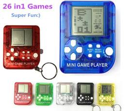 26 en 1 jeux ultra-petit mini console de jeu portable pour enfants Joueurs LCD portables Jouet pour enfants Jouet éducatif électronique ? partir de fabricateur