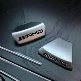 2019 lenkrad schwarz Auto Lenkrad AMG LOGO Emblem Autoaufkleber für AMG Mercedes Benz W212 W211 W210 GLC GLA E200L C / E Klasse Sport Edition rabatt lenkrad schwarz