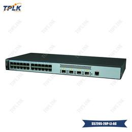 serie di alimentatori Sconti 2019 Vendita calda 24 porte Ethernet 10/100/1000 HUA WEI Switch S5720S-28P-LI-AC Serie S5700, 4xGig SFP, alimentatore CA