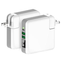 2019 беспроводные адаптеры питания Беспроводное зарядное устройство Power Bank 3 в 1 Беспроводное портативное зарядное устройство USB Type-C Adapter Wall Charger 6700mAh Power Bank дешево беспроводные адаптеры питания
