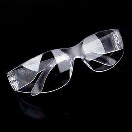 Argentina Gafas de seguridad de vidrio transparente Gafas para los ojos A prueba de viento Protección contra el polvo Trabajo seguro Proteger gafas Gafas hombres mujeres cheap working safety glass Suministro