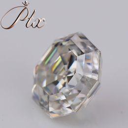 Bijoux en diamant en Ligne-8 * 8mm pvoda de pureté blanche vvs coupe forme lâche diamant synthétique moissanite pour la fabrication de bijoux USA livraison gratuite