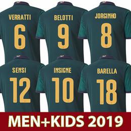 Maillots de foot italie en Ligne-2019 2020 italy troisième maillot de football de l'italie maillot de football INSIGNE Renaissance CHIELLINI BONUCCI BERNARDESCHI BELOTTI IMMOBILES SENSI BARELLA
