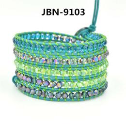 Puro set perla online-Fashion Love Designer Womens Mens Charms Bracciale Miscelazione del colore Crystal Pearl Pure Manuale String Beads Jewelry Set uomo donna bracciali