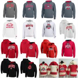 Estado sudadera online-Ohio State Buckeyes University Hockey Jerseys 15 Elliott 97 Joey Bosa 12 C.JONES 16 BARRETT 1 B.Miller Pullover Hoodie Sudaderas