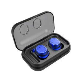 Ohrhörer ohrhörer online-TWS-8 Touch Control Bluetooth 5.0 EDR Kopfhörer IPX5 Wasserdichte Wahre Drahtlose Ohrhörer Sport Headset Mic Ladekasten Ohrbügel 1 teile / los