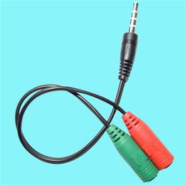 2 in 1 3.5mm Jack Aux Ses Kablosu 1 Erkek 2 Kadın Tel Splitter Y metal Uzatma Kablosu Kulaklık Araç Telefonu veya kulaklık uzatma nereden