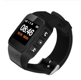 smart watch iphone wifi Coupons - D99 Smart Watch D99 Elderly Smart Watch Phone SOS Anti-lost Gps+Wifi Tracking watch for iphone Android phones Old Men Women