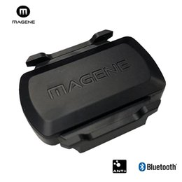 Argentina MAGENE gemini 210 Sensor de velocidad cadencia hormiga + Bluetooth para Strava Garmin Bryton bicicleta bicicleta computadora # 24017 cheap garmin bicycle Suministro