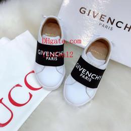 Chaussures de sport d'été pour enfants en Ligne-haut de gamme enfants garçons filles formateurs chaussures de sport été chaussures blanches