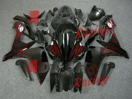 Nuovo kit carena iniezione adatto per YAMAHA YZFR1 07 08 YZF R1 2007 2008 YZF1000 Carene ABS per motocicli + coperchio serbatoio personalizzato fiamma rossa da yamaha yzf r1 carri armati fornitori