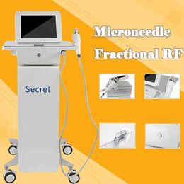 Máquina fraccionaria portátil rf online-Micro fracciones de radiofrecuencia RF micro fracciones de la piel portátil sistema de terapia de eliminación de arrugas máquina de belleza