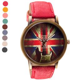 2019 смотреть женский кожаный холст Мода Повседневная Холст часы мужские Pattern Кожаный Ремешок Аналоговые Кварцевые Наручные Часы женские часы Женские наручные часы #M дешево смотреть женский кожаный холст
