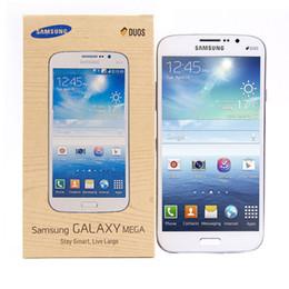 2019 desbloquear teclado celular Remodelado Original Samsung Galaxy Mega 5.8 Celular I9152 3G 5.8 Polegadas Dual Core Android4.2 1.5G RAM 8G ROM