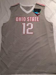 8274b8f7c10 Cheap custom New Ohio State Buckeyes basketball jersey Stitched Customize  any number name MEN WOMEN YOUTH XS-5XL
