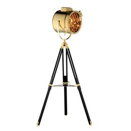Nordic American Creative Studio Retro Silber Golden Stehleuchten Stativ Stehlampen Zimmer Stehleuchte von Fabrikanten