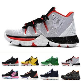 magic shoes high Promo Codes - High Quality rving 2019 Limited 5 Men Basketball Shoes 5s Black Magic Kyrie Chaussures Mens Designer Trainers Sneakers Zapatillas 40-46