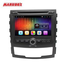 2019 hyundai tucson dvd spieler Auto-Multimedia-Spieler MARUBOX 2 DIN Viererkabel-Kern-2G RAM Android 7.1 für Stereo-Radio GPS Navi 7A603DT3 Auto-DVD SSANGYONG KORANDO 2011-2013