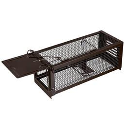 RatzFatz Mouse Trap Humane Live Cage, Catch and Release topi, Chipmunks, criceti e altri roditori, regolabile, porta solida da allenatore di forma fisica fornitori