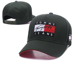 76b734f9a05 China wholesale baseball caps Luxury brand designer TOMMY cap Embroidery  hats for men snapback hat mens