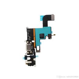 10 unids / lote nuevo cargador cargador puerto USB Dock conector Flex Cable para iPhone 6 6G 6S 4.7