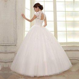 2019 черные белые свадебные платья 2019 двойной плечо тонкий разрез шеи мешок кружева ремешок Свадебные платья замуж невесты