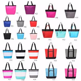 Canada 24 couleurs rose noir sac à main sac à bandoulière classique Portable Sacs à provisions pochette de mode pour les femmes dames fourre-tout cheap arts shops Offre