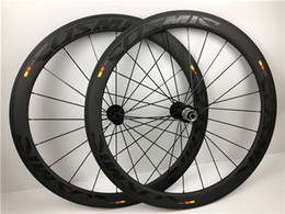 Gewebte fahrradräder online-Powerway R36 Naben T800 3K Weben Carbon Räder Vollcarbon Laufradsatz 50mm Carbono Rennradräder Carbon Fahrradräder