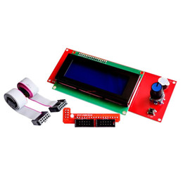 Ripetere i kit di stampa 3d online-Freeshipping 5 set / lotto promozione 3D Printer Kit Reprap Smart 3D parti della stampante Display Reprap Rampe 1.4 2004 LCD LCD 2004 Control