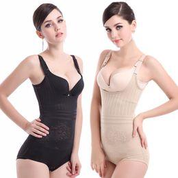 1dad6df2b Bodysuit Sexy Sculpting Shapewear Full Body Control Corset Slimming Abdomen  Gathered Shaper Sexy Underwear Woman Lingerie
