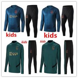2019 2020 bambini ajax Survêtement tute di calcio 19 20 KLAASSEN tuta Milik ajax giacca vestito dei capretti allenamento di calcio da