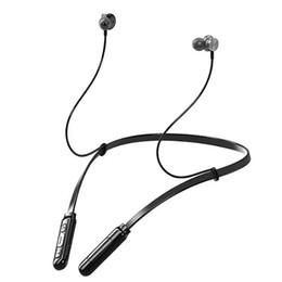 2019 auriculares de cuello El más reciente de Bluetooth 5.0 para auriculares Q9 Wireless Headset auricular impermeable de sonido estéreo cuello colgando de i10 HD llamada / deporte auriculares de cuello baratos