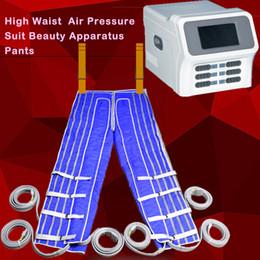 máquina de terapia de drenaje linfático Rebajas La presoterapia adelgaza la presión de aire máquina de masaje spa desintoxicación linfa drenaje pérdida de peso terapia de la máquina aliviar la fatiga Máquina de adelgazamiento