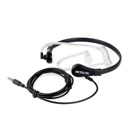 2019 fones de ouvido de óculos de sol 1 Pin 3,5 milímetros garganta MIC Fone Covert Air tubo fone de ouvido para o iPhone Samsung HTC