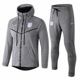 dernière saison 18 19 UK LINGARD Hoodies vestes STERLING survêtements 2019 gris KANE sportswear RASHFORD manches longues Full Zipper manteau anti-poussière ? partir de fabricateur