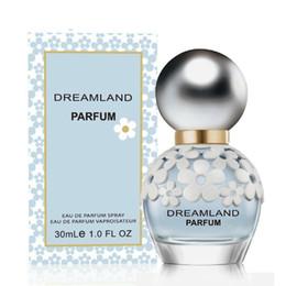 Fiori di frutta fresca online-Daisy Dreamland Lady Fashion Elegant Perfume Fresh e Light Fragrance Natural Lasting 30ml Flower Fruit Fragrance Regalo squisito